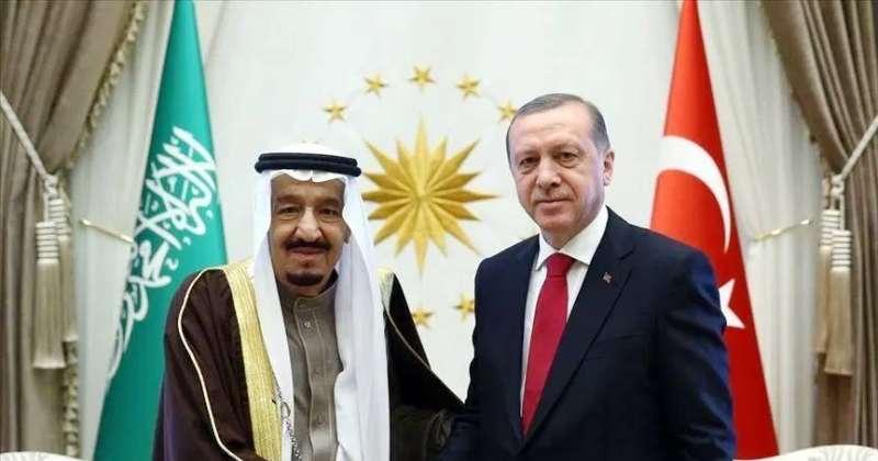 الرئاسة التركية: اردوغان والملك سلمان ناقشا العلاقات الثنائية في اتصال هاتفي