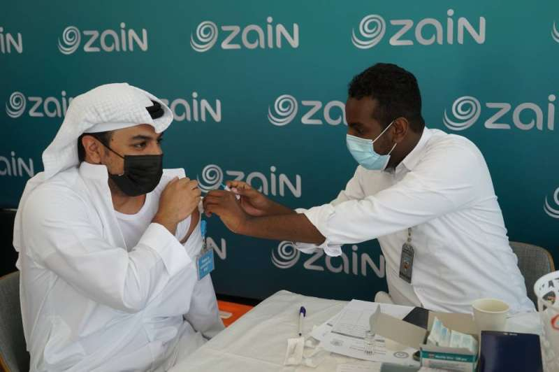 Vaccination of an employee