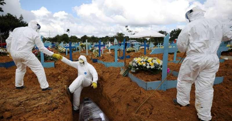 البرازيل تسجل 868 وفاة و34339 إصابة جديدة بكورونا