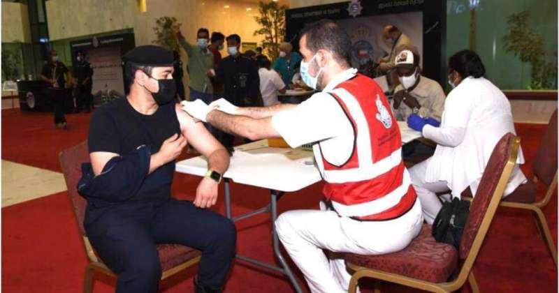 «الداخلية»: حملة تطعيم ضد «كورونا» للعاملين بالمبنى الرئيسي للوزارة
