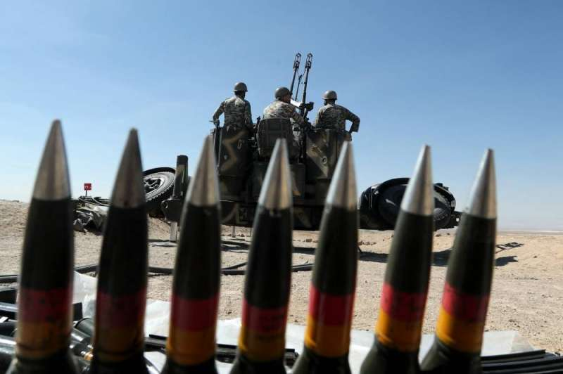 Iran is testing local air defense systems in maneuvers in the center of the country (AFP)