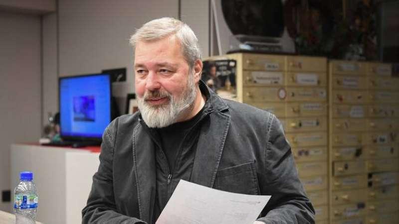 Russian journalist Dmitry Muratov